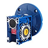 SucceBuy Worm Gear Reducer High Torque Speed Reducer Ratio 56C Speed Reducer Gearbox RV50