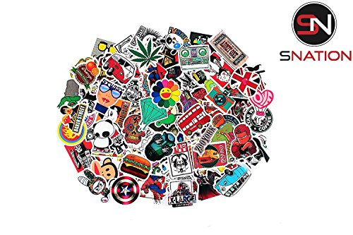 Stickers 100pcs sticker pack snation stickers laptop stickers skateboard stickers stickers laptop stickers bmx stickers stickerbomb2