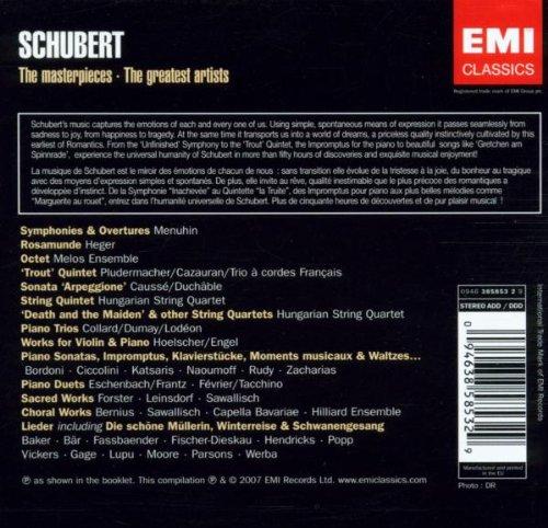 Schubert 50 CD Collectors Edition by EMI Classics