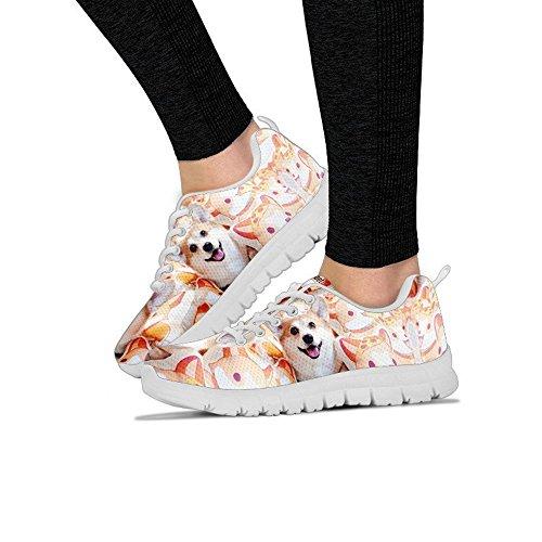 Print Breed Corgi Halloween All Dog Your Pembroke Sneakers Welsh Casual Women's Running Women's Shoes Choose BIwqP61B