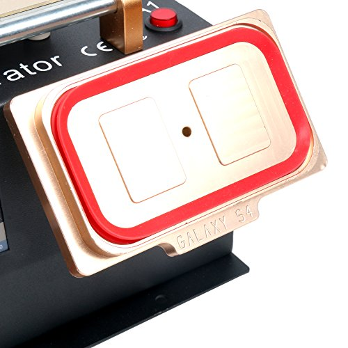 3 in 1 Middle Bezel Frame Separator Machine Cell Phone LCD Glass Plate Build-in Pump Vacuum Repair LCD Screen for Smart Mobile Phone 7 Inch and Below by YaeCCC (Image #7)