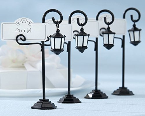 Bourbon-Street-Streetlight-Place-Card-Holder-with-Coordinating-Place-Cards-Set-of-4