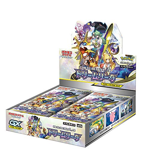 pokemon card Game Sun & Moon Enhanced Expansion Pack &Dream League&Box (Pokemon Sun And Moon Best Pokemon Game)