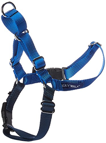 PetSafe Easy Walk Harness,  Medium, ROYAL BLUE/NAVY BLUE for Dogs