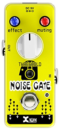 XVive V11 Noise Gate Guitar Effects Pedal by Xvive