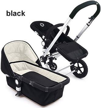 Onwijs Amazon.com : Bugaboo Frog Complete Stroller - Black : Baby EL-36