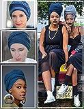 Headscarf for Black Women Fashion Long Stretch