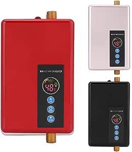 Mini calentador de agua eléctrico instantáneo, 5500W 220V ...