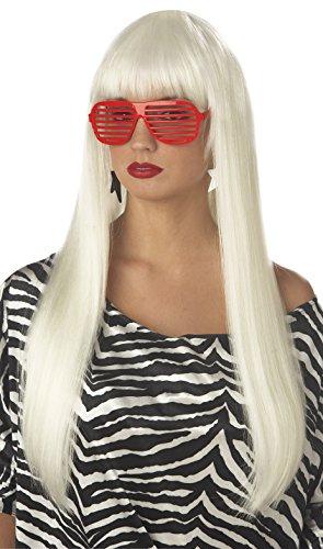 Pop Angel Wig In Platinum Blonde - California Costumes Women's Pop Angel Wig,Platinum