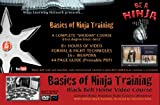 "DVD: ""Basics of Ninja Training"" Ninjutsu Blackbelt Video Course (Bujinkan) on 9 DVD Discs"