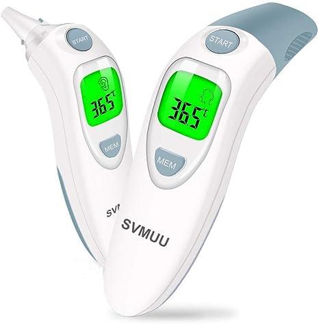 Thermomètre bébé corps médical infrarouge oreille précise front lcd lcd mesure equipement de protection