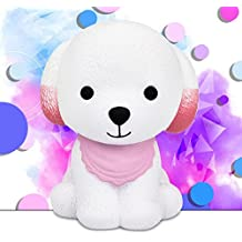 Slow Rising Squishies Jumbo,Todaies 2018 New 12cm Jumbo Squishy Cute Puppy Scented Cream Slow Rising Squeeze Decompression Toys (Pink)