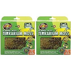 Terrarium Moss [Set of 2] Size: 15-20 Gallons