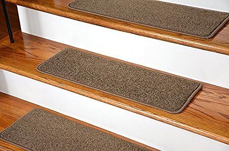 Merveilleux Dean Serged DIY Carpet Stair Treads (13)   Rich Earth Plush 27u0026quot; X