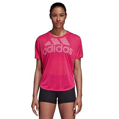 adidas Magic Logo Camiseta Deporte, Mujer: Amazon.es: Ropa y