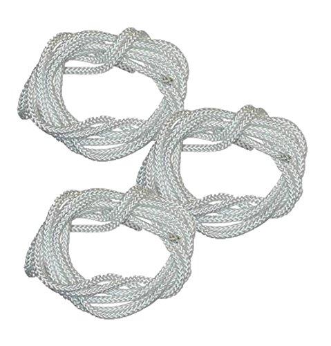 Husqvarna Craftsman Poulan Chainsaw (3 Pack) Replacement 3' Starter Rope # 530069232-3pk