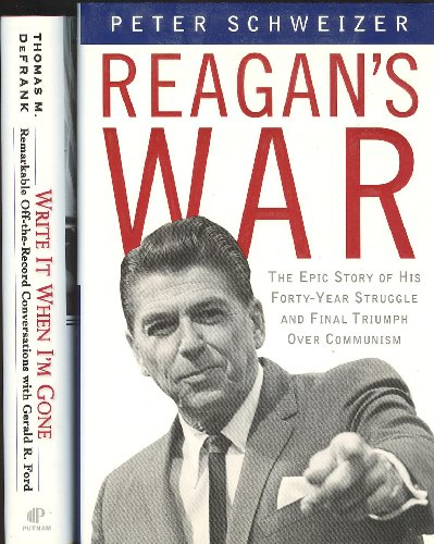 Reagan's War and Write It When I'm Gone 2 Book Set