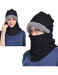 Balaclava Fleece Hood for Men or Women, Heavy Fleece Unisex Balaclava, Ski Face Mask, Winter Warmer Protective...