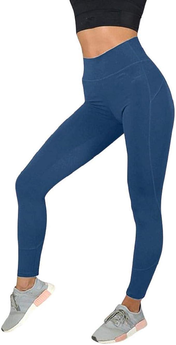 SHOBDW Pantalones Mujer Moda Sólido Delgado Suave Entrenamiento ...