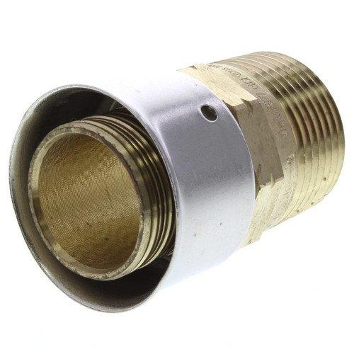 Zero Lead Bronze 1inch PEX Press x 3/4inch M NPT Adapter whit Attached Sleeve