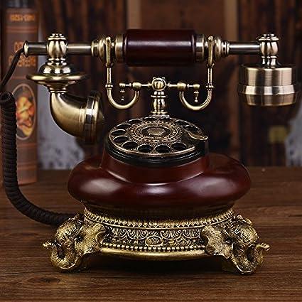 Motesuvar Teléfono De Antigüedades Europeas, Teléfono ...