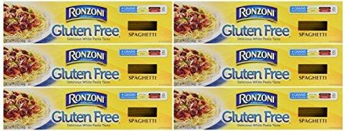 Ronzoni Gluten Free Pasta 12oz Box (Pack of 6) Choose Shape Below (Spaghetti) by Ronzoni