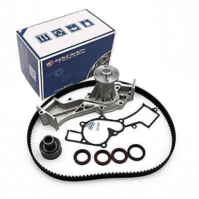 Timing Belt Water Pump Kit fits for 1996-2000 Nissan Pathfinder, Infiniti QX4, 1999-2004 Nissan Frontier, Xterra 3.3L 12V V6 SOHC: Automotive