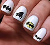 Nails Art Decals Batman Set 3D DIY Colorful Original Women Beauty Fashion Style High Quality Design Decoration Water Stickers