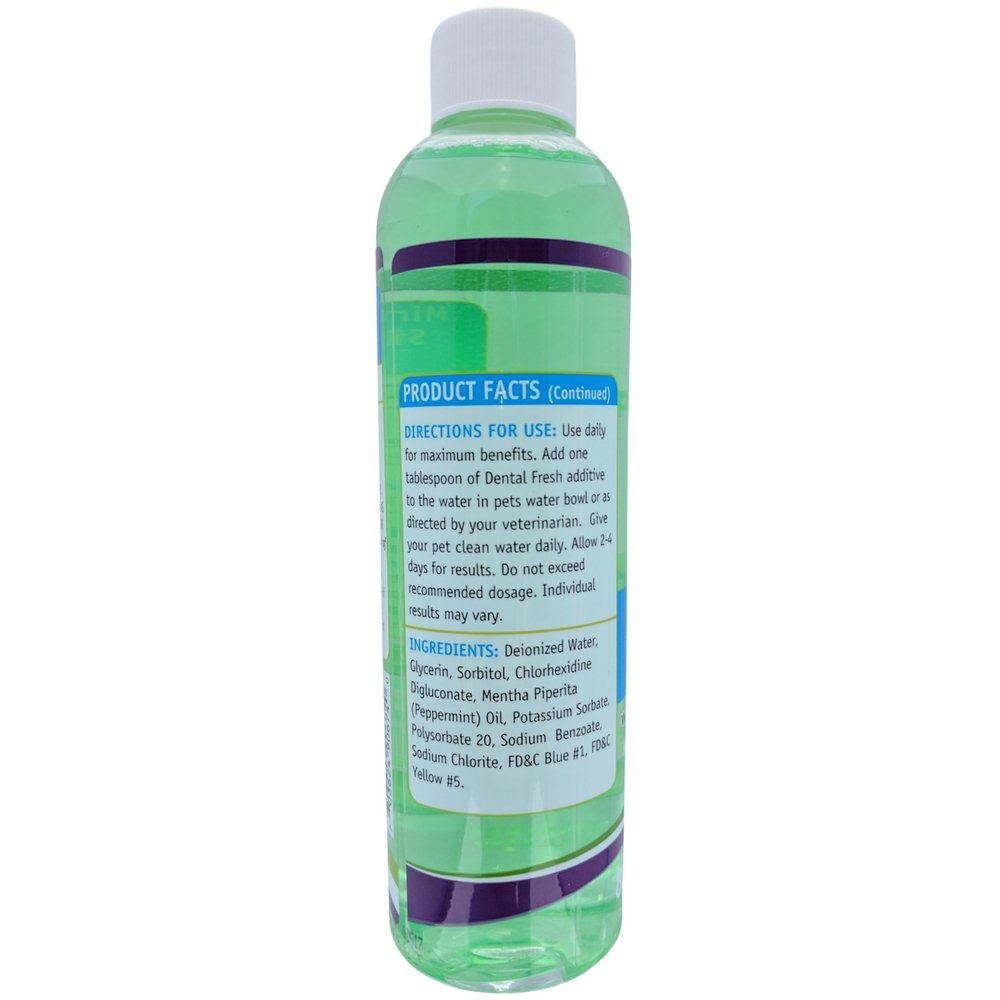 Primo Pup Vet Health - Dental Fresh Water Additive - All Dog Formula with Peppermint Oil - Veterinarian Formula Reduces Plaque & Tartar, Freshens Breath, Reduces Bacteria in Mouth - 8 fl oz by Primo Pup (Image #3)