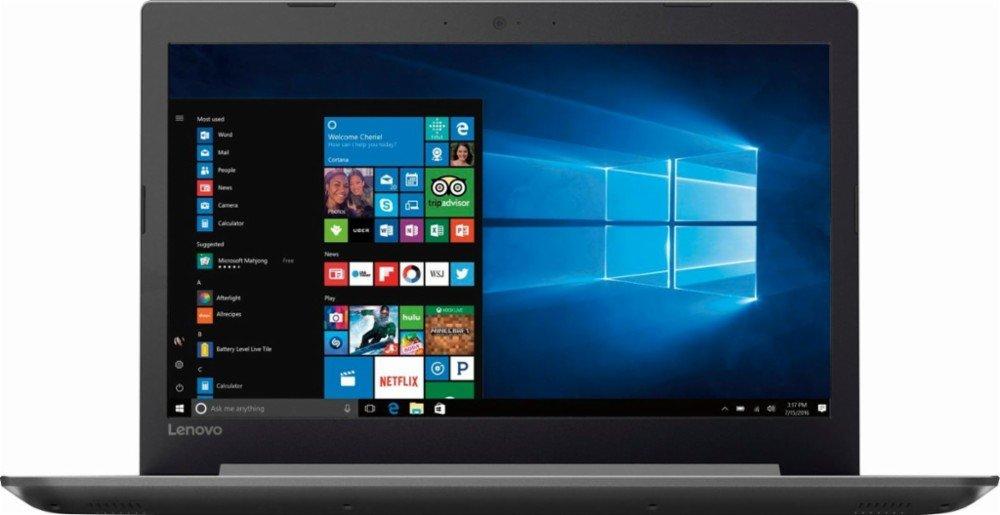 2017 Lenovo 320 15.6 Inch Flagship High Performance Laptop AMD A12 up to 3.6 GHz, 8GB RAM, 128GB SSD, AMD Radeon R7, WiFi, Bluetooth, Webcam, HDMI, USB-C, DVD-RW, Windows 10 Home Silver