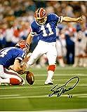 Autographed Scott Norwood Buffalo Bills 8x10 Photo - W/coa