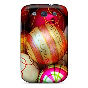 High Quality JMAon Christmas Ball Ornament Skin Case Cover Specially Designed For Galaxy - S3