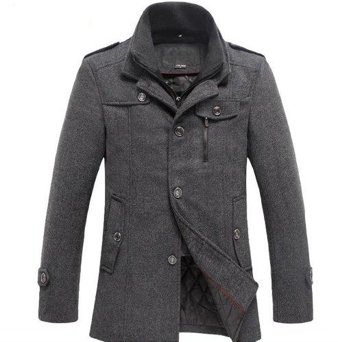 men winter warm soft wool