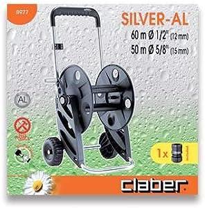 Aluminium Garden Hose Pipe Rewinder 70 Metres 8977