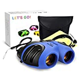 LET'S GO! DIMY Compact Watreproof Binocular for Kids - Best Gifts