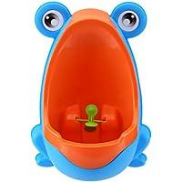 Doitsa 1X Urinoir Enfants Garçon Portable Colorful Frog - Pee Trainer de Salle de Bain - Forme de Grenouille Intéressante