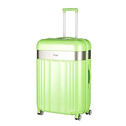 f43e5ede8 TITAN Spotlight Flash 4W Trolley L Flashy Kiwi: Amazon.co.uk: Luggage