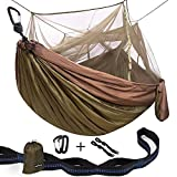 Single & Double Camping Hammock With Mosquito Net Review and Comparison