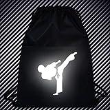 Kunzite Luminous Taekwondo Gym Drawstring Bags