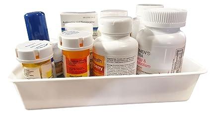 Amazon com: Medication & Supplement Storage Bin Cabinet