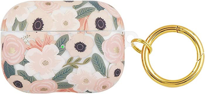 Rifle Paper CO. Protective Case for Airpods Pro - Compatible with Apple AirPods Pro - Floral Design - Wild Flowers