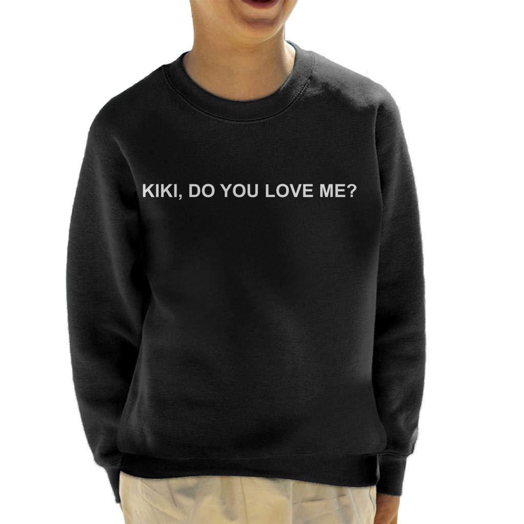 Drake Kiki Do You Love Me Bold Kid's Sweatshirt