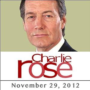 Charlie Rose: Lakhdar Brahimi, November 29, 2012 Radio/TV Program