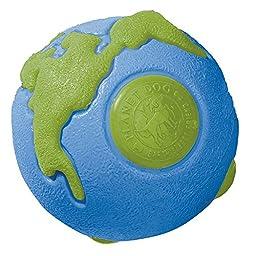 Planet Dog Orbee-Tuff Orbee Ball, Large, Blue/Green
