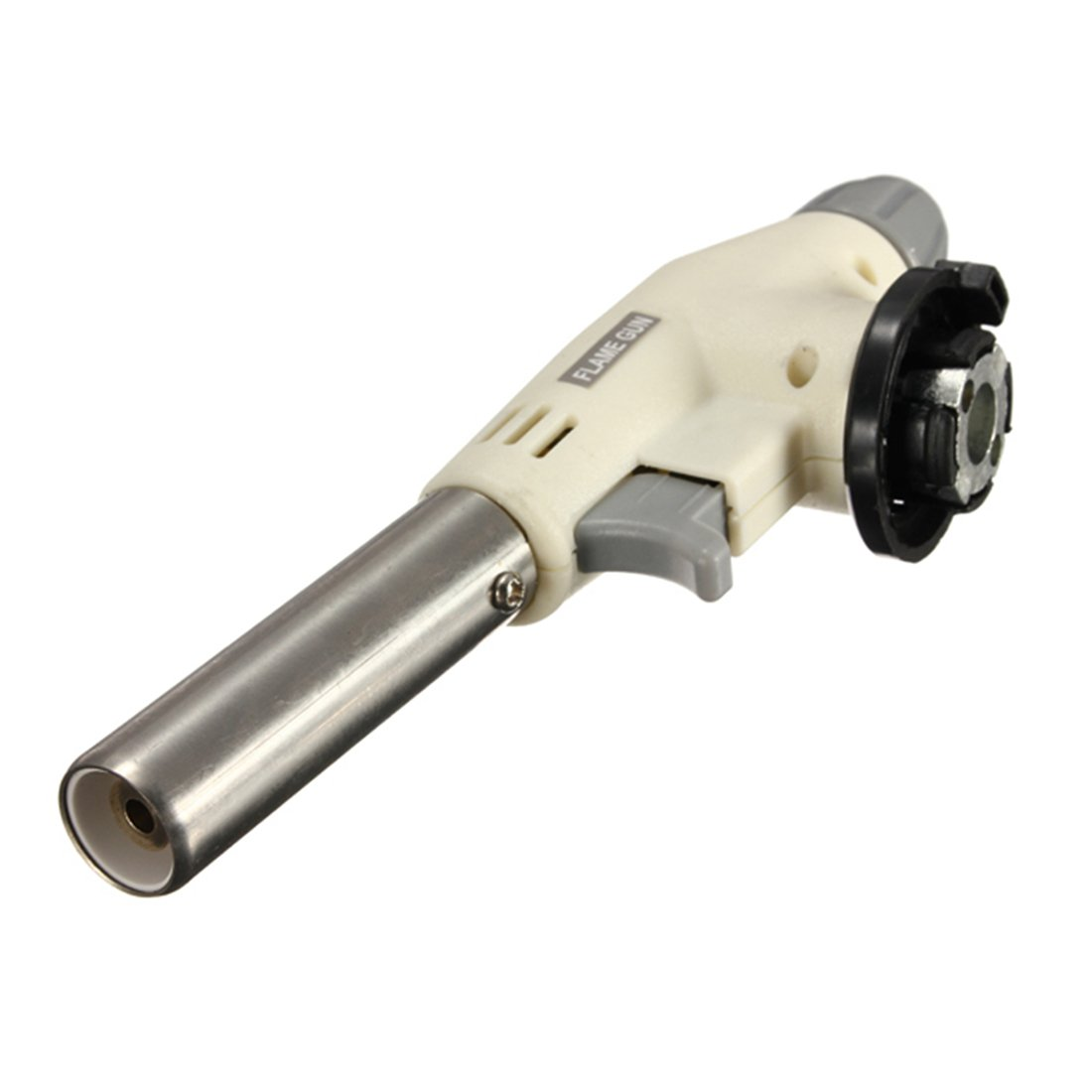 Flame Gun - FLAME GUN Butane Gas Blow Torch Burner Welding Solder Iron Soldering Lighter Flame
