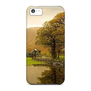 Fashion Tpu Case For Iphone 5c- Country Lscape Defender Case Cover
