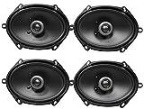 (4) MB QUART FKB168 6x8 200 Watt Car Stereo Coaxial Speakers
