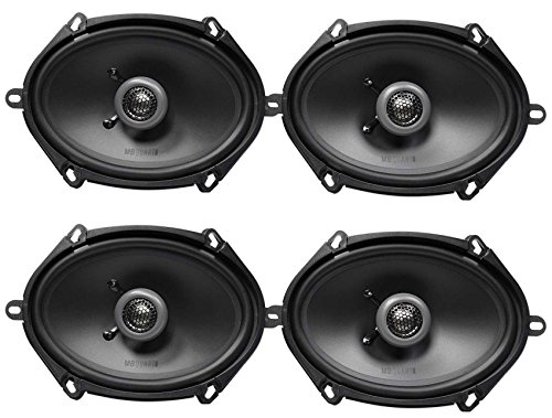 (4) MB QUART FKB168 6x8 200 Watt Car Stereo Coaxial Speakers (Speakers 5x8)