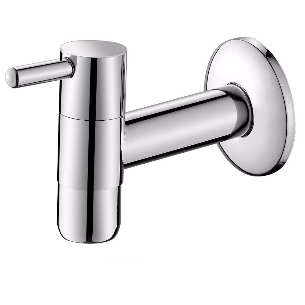 A Gyps Faucet Basin Mixer Tap Waterfall Faucet Antique Bathroom Mixer Bar Mixer Shower Set Tap antique bathroom faucet Mops pool faucet full copper thick single cold tap into wall-laundry pool faucet B