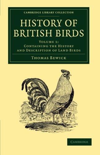 a history of british birds - 1